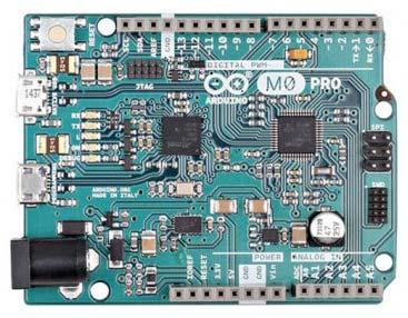 ARDUINO M0 PRO Code: A000111 The Arduino M0 Pro is an Arduino M0 with a step by step debugger With the new Arduino M0 Pro board, the more creative individual will have the potential to create one s