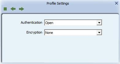 6. Security 6.1 Auth.\ Encry. Setting WEP/TKIP/AES Figure 3-1 Auth.\Encry. Settings in the Profile Page Authentication Type: There are 7 authentication modes supported by RaUI.