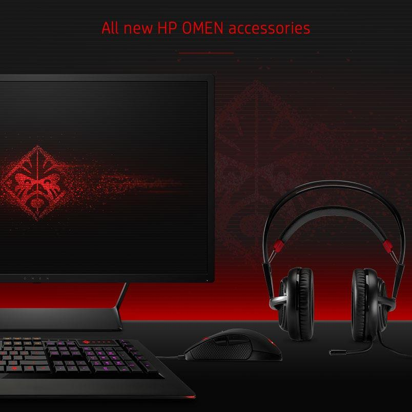 429. 99 HP OMEN 32 Display QHD perfection and lightning quick refresh rate. 79. 99 OMEN Headset with Steelseries Professional-grade comfort; balanced soundscape 59.