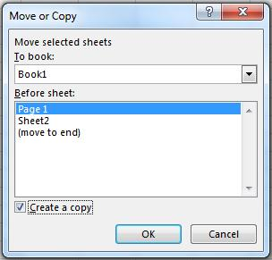 Moving a Worksheet to another Workbook Be sure both workbooks (original and destination) are open. Right click on the tab of the desired worksheet and choose Move or Copy.
