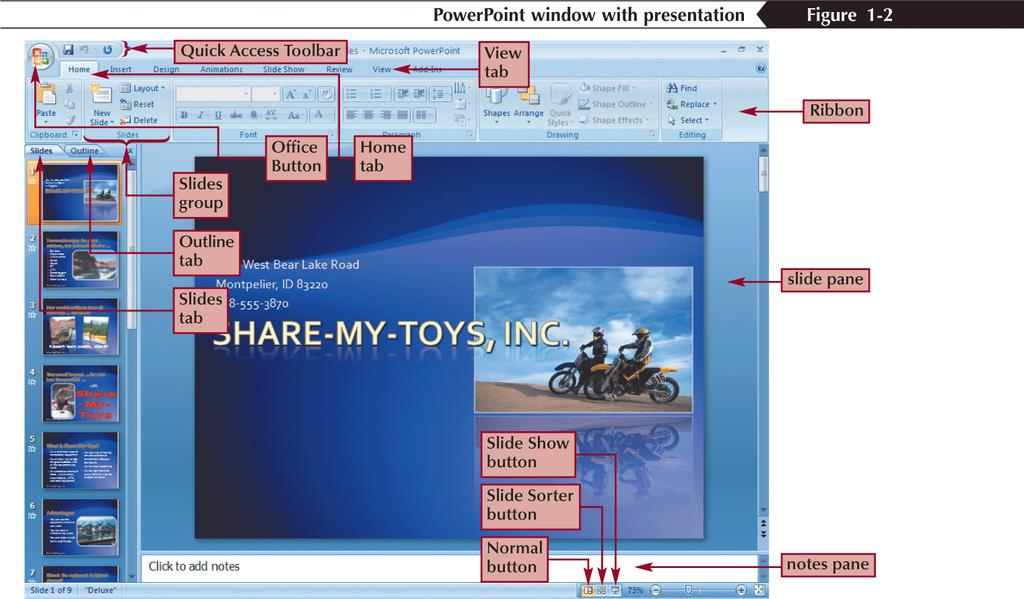 Opening an Existing PowerPoint Presentation New