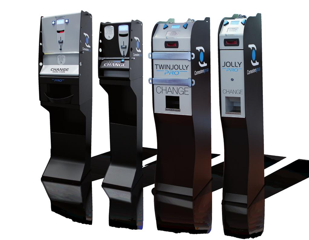 PRO line Money changing machines for any