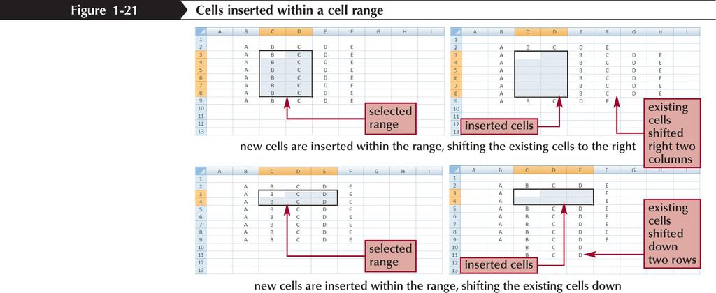 Inserting and Deleting a Cell Range New