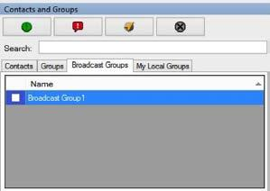 You can view the total groups assigned to you by hovering your cursor over the Groups tab. The total number of members in the group are shown in parenthesis in the Members header as shown below.