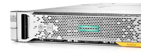 NEW HPE StoreVirtual 3200 Storage Low-cost, next-gen storage that scales with you Start at < 5K* and add flash when you are ready Supercharge workloads with a small amount of flash and Adaptive