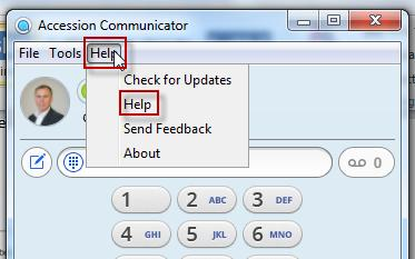 Welcome Accession Desktop Communicator is a unified communications softphone client that you can use on your PC or laptop.