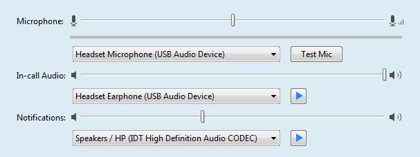 Audio Tab To select or view the audio equipment that you want to use with Accession, click the Audio tab.