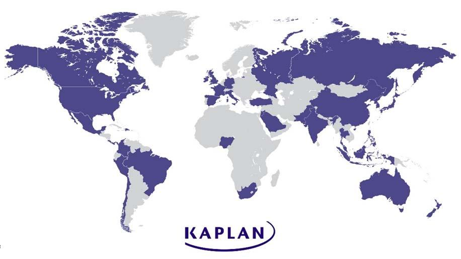 Our Global Footprint Measuring Kaplan University s Educational Impact For every career path +1MM students annually served Facilities in 30+ countries Over 19,000 employees worldwide All of our degree
