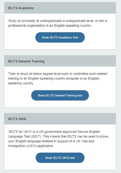 A guide to booking your IELTS Test In this guide we ll take you step by step through booking your IELTS test using