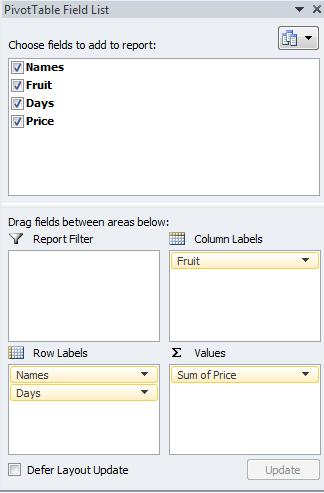 sed on data from an external source. Key Steps: a. Insert a new worksheet. b. Click the Insert tab (in the Ribbon) and select PivotTable to open the Create PivotTable dialog box. c.