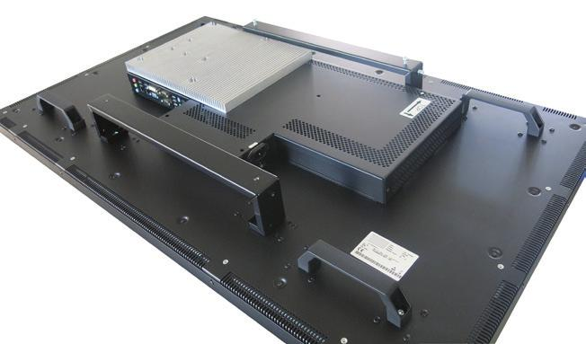 PC box with wall mount with wall mount Data Display Group Contact DATA Display Group is represented