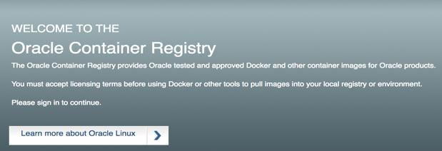 ORACLE SUPPORTS BOTH DOCKER AND LXC Official Oracle on Docker repository: https://github.