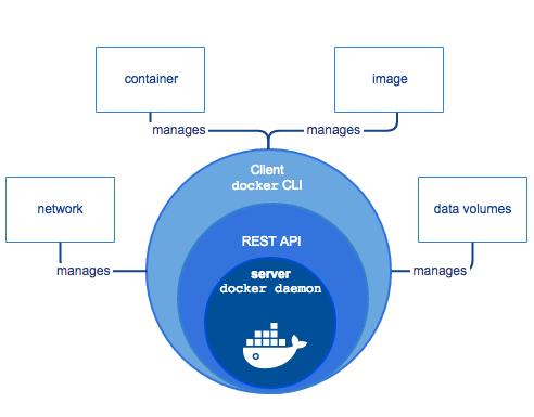 DOCKER ENGINE Docker Engine: Responsible for managing networking, images, containers,