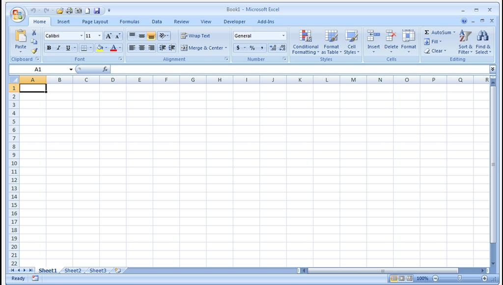 Entering Data into Excel This tutorial is designed to assist the beginner and refresh the experienced Excel user on some of the skills that will be needed in the IAAO Mass Appraisal courses.