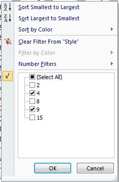 Using the Show Formulas option in the Formula Auditing group of the Formulas tab reveals that the calculations are based on all rows 2 through 101 of the original dataset.