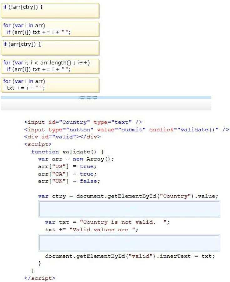 Ms Exam Code Exam Name Programming In Html5 With Javascript And