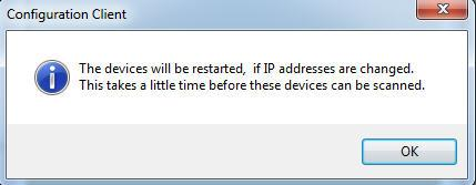 select SetIP Addresses The Set IP Addresses menu shuld appear Enter the starting IP address fr the address range yu