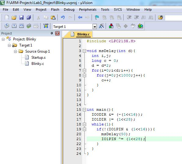 10- Copy the code that is attached with lab into the