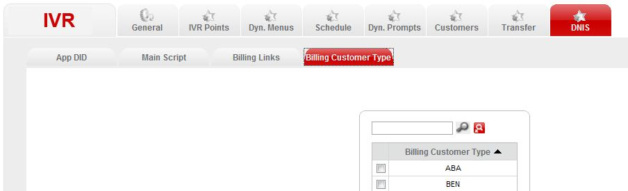 3. In the Billing Customer Type page, click Add to create a new customer type. 4.