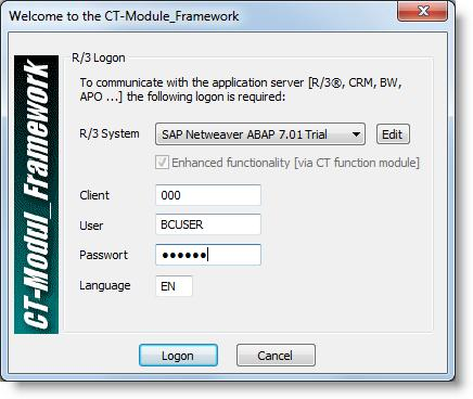 If the following box appears, the SAP GUI scripting interface is not active.