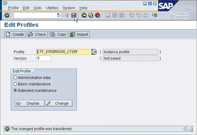 Notes only for administrators: SAP GUI Scripting 6.