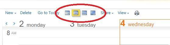 Mnth View Displays appintments fr the entire mnth. Adding an Appintment 1. Click New n the Calendar Tlbar. 2.