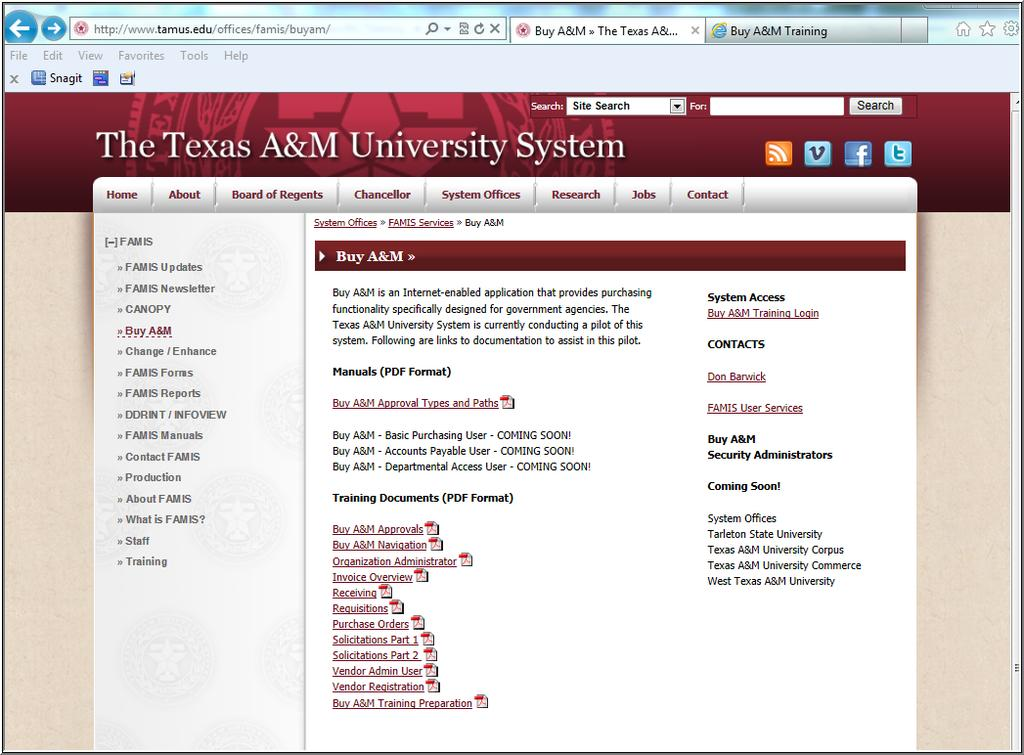 Buy A&M Org Admin - Tips and Techniques Supprt Site A site has been created t prvide access t training materials, system links and Security Administratr infrmatin fr