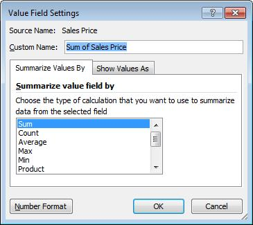 Work with PivotTable Data 1) Click plus to display hidden data or minus to hide