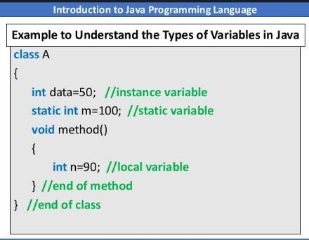 A variable that is declares static is called static variable. This type of variable are initialized only once in a program.