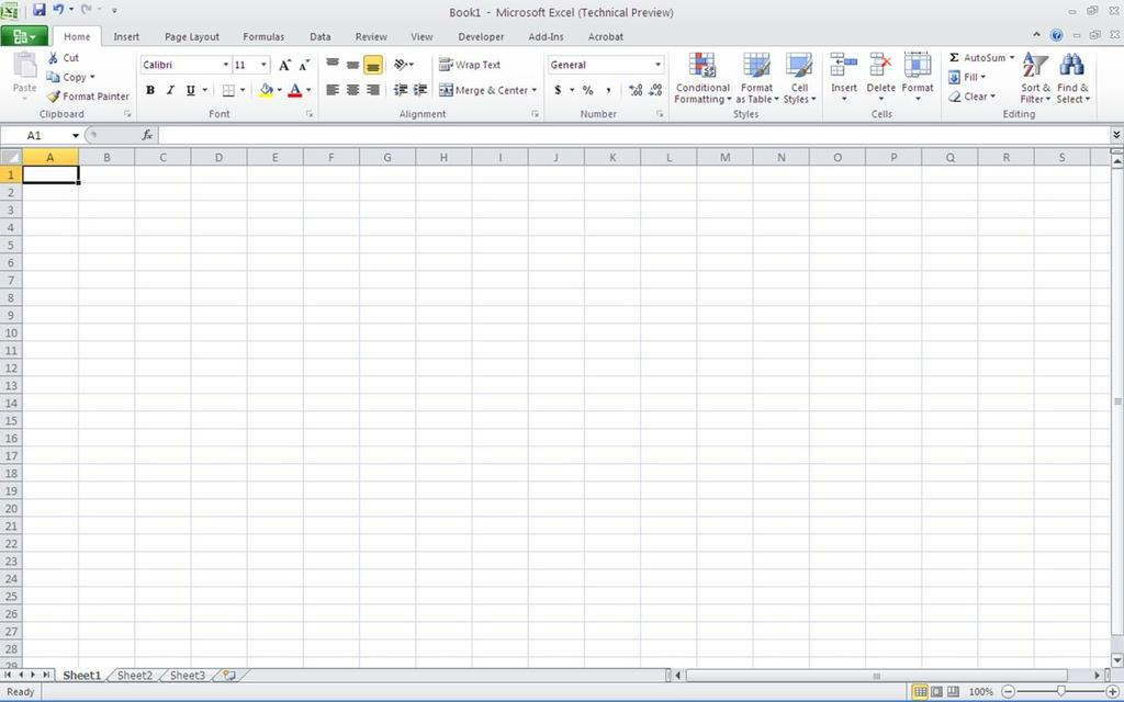 You can use Excel for to keep up with inventory, budgets, bookkeeping, contact lists, etc. Getting Started 1.
