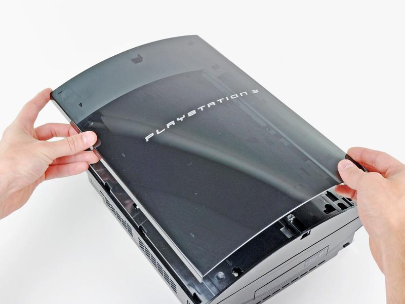 body of the PS3.