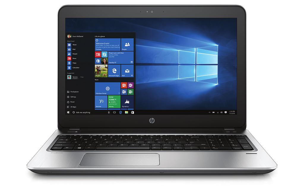 Datasheet HP ProBook 450 G4 Notebook PC Built for productivity, the HP ProBook 450 delivers the performance and security features essential for today s workforce.