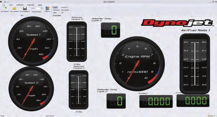 POWERCORE SOFTWARE SUITE SELECTABLE AIR/FUEL DATA SOURCE DYNOWARE RT AFR-2 OR DJ-CAN DEVICES PowerCore is a new PC based application that provides Dynojet dyno owners with the most advanced tuning