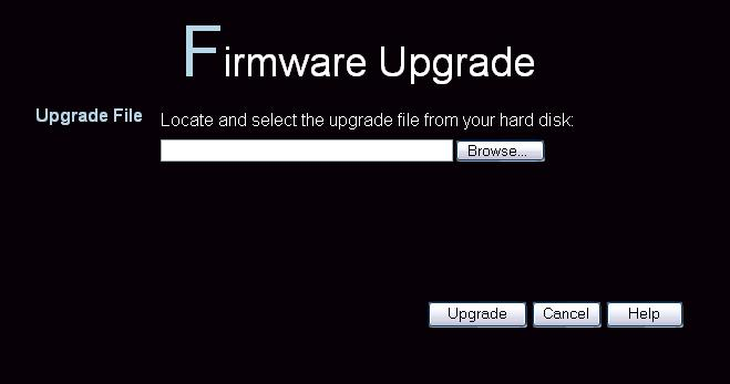 Access Point Management Upgrade Firmware The firmware (software) in the Wireless Access Point can be upgraded using your Web Browser.