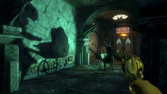 Dramatic shadow in 2K Games BioShock From www.wired.