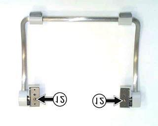 Hinge cover (L) and hinge cover (R)