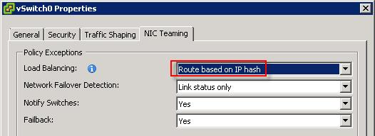 Chapter 5: Network Design vsphere network configuration NIC teaming All network interfaces on the vsphere servers in this solution use 1 GbE connections.
