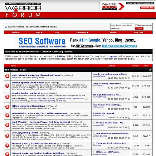 Setup Part 3 of 3 Getting Traffic To Your Squeeze Page Method #1 Forum Marketing This is straight forward and so easy to do. A good place to start is in the Warrior Forum.