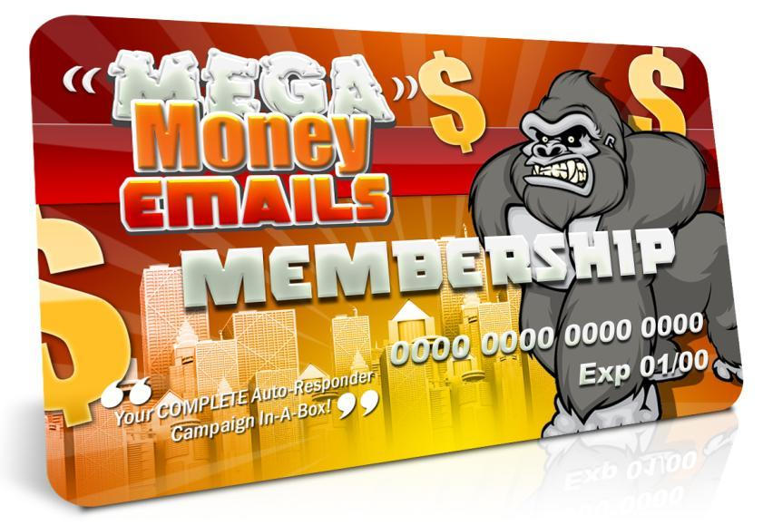 Register Your Purchase Of Mega Money Emails!