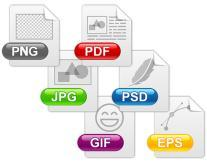Native sound format for Windows Graphics File Formats File Name Extension.png.gif.jpg.jpeg.jfif.tif.tiff.ps.