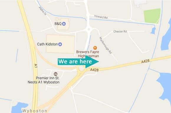 WHERE TO FIND US.