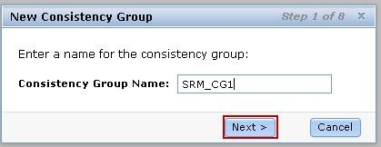 The following steps show how the test team configured the consistency group for the Global Mirror volumes in the lab solution test setup. 1.