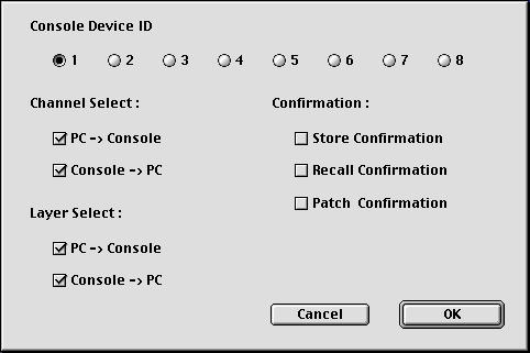 Using Studio Manager Online & Offline 14 Shown below left is the Mac version of the dialog, and below right is the Windows version.