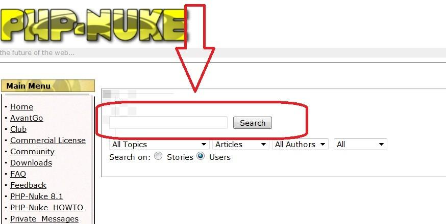 In order to see your Public Profile, click the Search Users link at the bottom of the page: Put your
