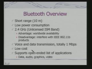 (Refer Slide Time: 02:17) Bluetooth is currently and accepted IEEE standard for personal area network.