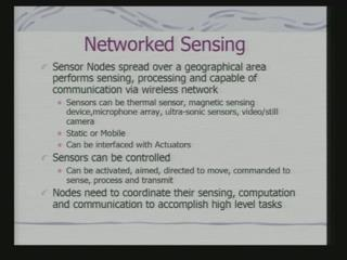 to put computers in the external world and still stay connected. This list as to what is known as network sensing.