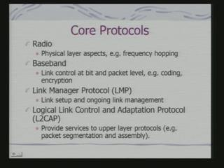 and adopted protocols. In fact, we shall come to them later on. (Refer Slide Time: 10:51) Core protocols are what?