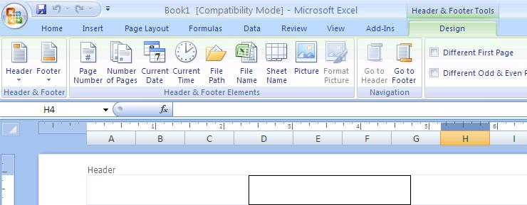 Excel New Features In addition to the common features mentioned earlier, Excel 2007 has many new or enhanced features.
