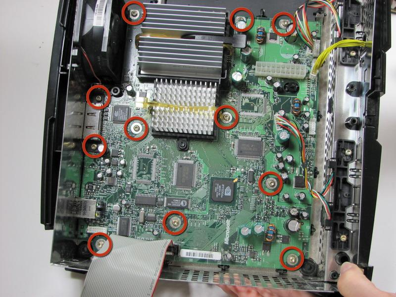 motherboard, using a T10 Torx