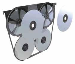 070 25 324 140 cd/dvd holder Features: Two-sided